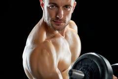 Πορτρέτο ενός bodybuilder στοκ εικόνες