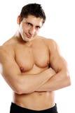 Πορτρέτο ενός muscleman Στοκ Εικόνες