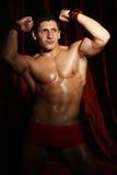 Πορτρέτο ενός muscleman Στοκ φωτογραφία με δικαίωμα ελεύθερης χρήσης