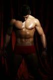 Πορτρέτο ενός muscleman Στοκ εικόνα με δικαίωμα ελεύθερης χρήσης