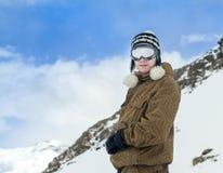 Πορτρέτο ενός snowboarder Στοκ Εικόνα