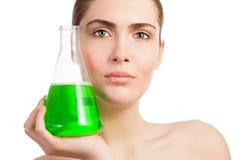 Η επιστήμη της βιομηχανίας makeup στοκ φωτογραφίες με δικαίωμα ελεύθερης χρήσης