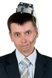 πορτρέτο επιχειρηματιών Στοκ φωτογραφία με δικαίωμα ελεύθερης χρήσης