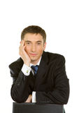 πορτρέτο επιχειρηματιών Στοκ Εικόνα