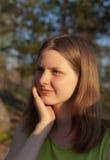 πορτρέτο ηλιόλουστο Στοκ φωτογραφία με δικαίωμα ελεύθερης χρήσης
