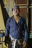 Πορτρέτο καλλιτεχνών της παράδοσης Tobong Στοκ φωτογραφία με δικαίωμα ελεύθερης χρήσης