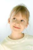 Πορτρέτο κινηματογραφήσεων σε πρώτο πλάνο μικρών κοριτσιών στοκ εικόνα