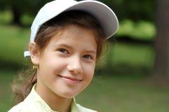 πορτρέτο κοριτσιών εφηβι&kap Στοκ Εικόνα