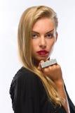 πορτρέτο κοριτσιών μόδας Στοκ εικόνα με δικαίωμα ελεύθερης χρήσης