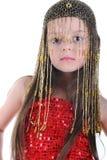 πορτρέτο κοριτσιών χορού &kap Στοκ Φωτογραφία