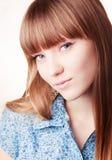 πορτρέτο κοριτσιών όμορφο Στοκ Φωτογραφία