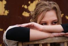 πορτρέτο κοριτσιών Στοκ Φωτογραφίες