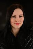 Πορτρέτο κοριτσιών Brunette Στοκ εικόνα με δικαίωμα ελεύθερης χρήσης