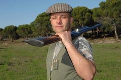 πορτρέτο κυνηγών Στοκ εικόνα με δικαίωμα ελεύθερης χρήσης