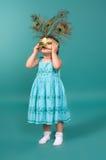 πορτρέτο μασκών κοριτσιών καρναβαλιού Στοκ Εικόνα