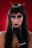 Πορτρέτο μαύρου bogy Στοκ Εικόνες