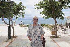 Πορτρέτο μιας γυναίκας της ώριμης ηλικίας στοκ φωτογραφία με δικαίωμα ελεύθερης χρήσης