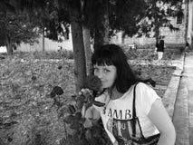 Πορτρέτο μιας γυναίκας Στοκ Εικόνες