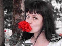 Πορτρέτο μιας γυναίκας Στοκ φωτογραφία με δικαίωμα ελεύθερης χρήσης