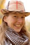 Πορτρέτο μιας γυναίκας Στοκ φωτογραφίες με δικαίωμα ελεύθερης χρήσης