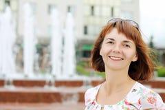 Πορτρέτο μιας γυναίκας Στοκ Φωτογραφίες