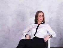 Πορτρέτο μιας επιχειρησιακής γυναίκας Στοκ Φωτογραφία