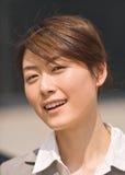 Πορτρέτο μιας μοντέρνης νέας κινεζικής γυναίκας, Πεκίνο, Κίνα Στοκ φωτογραφία με δικαίωμα ελεύθερης χρήσης