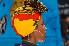 Πορτρέτο μιας νέας γυναίκας από την Κούβα στοκ εικόνα