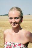 Πορτρέτο μιας νέας γυναίκας Στοκ Εικόνα