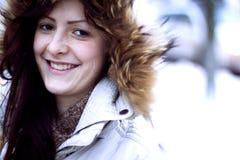 Πορτρέτο μιας νέας γυναίκας Στοκ φωτογραφία με δικαίωμα ελεύθερης χρήσης