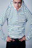 Πορτρέτο μιας σάλτσας ατόμων Στοκ φωτογραφία με δικαίωμα ελεύθερης χρήσης