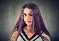 Πορτρέτο μιας όμορφης γυναίκας στοκ εικόνες με δικαίωμα ελεύθερης χρήσης