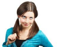 Κορίτσι Teeange Στοκ εικόνα με δικαίωμα ελεύθερης χρήσης