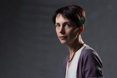 Πορτρέτο μιας beautyful γυναίκας Στοκ Εικόνες