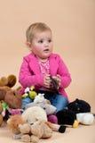 Πορτρέτο μωρών ενός έτους Στοκ Εικόνα