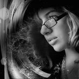 πορτρέτο μόδας Στοκ φωτογραφίες με δικαίωμα ελεύθερης χρήσης