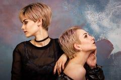 Πορτρέτο μόδας των γυναικών Στοκ εικόνα με δικαίωμα ελεύθερης χρήσης