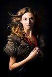 πορτρέτο μόδας Στοκ Εικόνες