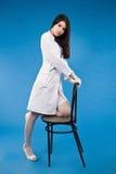 πορτρέτο νοσοκόμων όμορφο Στοκ φωτογραφίες με δικαίωμα ελεύθερης χρήσης