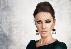 πορτρέτο ομορφιάς αναδρ&omicron αυξήθηκε ορισμένος τρύγ&omicron Στοκ φωτογραφία με δικαίωμα ελεύθερης χρήσης