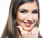 Πορτρέτο ομορφιάς γυναικών Στοκ Εικόνα