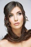 Πορτρέτο ομορφιάς γυναικών Στοκ εικόνες με δικαίωμα ελεύθερης χρήσης