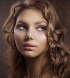 πορτρέτο ομορφιάς Στοκ φωτογραφία με δικαίωμα ελεύθερης χρήσης