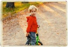 Πορτρέτο παιδιών μικρών παιδιών στο θερινό πάρκο Στοκ Φωτογραφίες