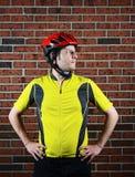Πορτρέτο ποδηλατών Στοκ Εικόνες