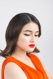 Πορτρέτο προσώπου γυναικών ομορφιάς Όμορφη νεολαία και νύφη hairstyle Στοκ φωτογραφία με δικαίωμα ελεύθερης χρήσης