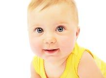 πορτρέτο προσώπου μωρών Στοκ εικόνα με δικαίωμα ελεύθερης χρήσης
