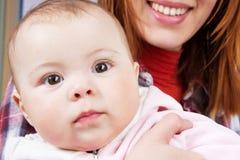 πορτρέτο προσώπου μωρών Στοκ φωτογραφία με δικαίωμα ελεύθερης χρήσης