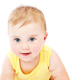 πορτρέτο προσώπου μωρών Στοκ Εικόνες