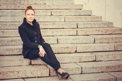 Πορτρέτο πόλεων κοριτσιών Στοκ Φωτογραφία